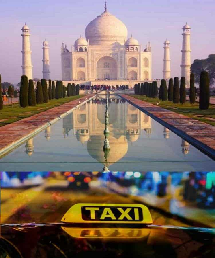 Book Taxi in Agra